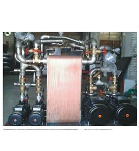 商用热水-采暖炉施工